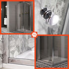 Revron Bi-Fold Shower Enclosure Premium 6mm Toughened Glass