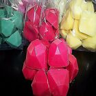 Wax Tart Melts 8 oz 20 pc Diamond Chunk Candles 250 Scents - Pick Your Favorite