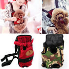 Small Dog Cat Pet Puppy Carrier Backpack Front Tote Carrier Net Bag Kitten