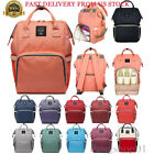 Multifunctional Mummy Maternity Nappy Bag Baby Diaper Change Mom Travel Backpack
