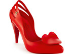 NEW Melissa + Vivienne Westwood Anglomania + Melissa Classic Heels Red