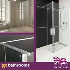 Rayle Walk in Shower Enclosure Wet Room 8mm Toughened glass