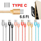 2M USB C Archetype-C Data Sync Charging Cable For LG G6 Samsung Galaxy S8 / Note 8
