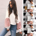New Women Long Sleeve Hoodie Sweatshirt Sweater Casual Hooded Coat Tops Pullover