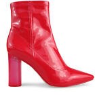 Wittner Ladies Shoes Red Patent Boots