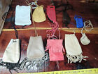 leather pouch 10 bags / large wholesale lot 8