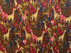 *Giraffe* Jungle Animal Kids 100% Cotton Fabric FQ-Yard Patchwork *Upto 30% OFF*