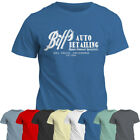 T-Shirt   Biff's Auto Detailing Tshirt   Back to the Future Inspired Tee Top
