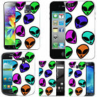motif case cover for various Mobile phones assorted aliens