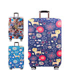 Super Elastic Travel Luggage Protective Cover Suitcase Jacket Cat Deer
