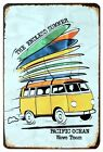 A4 SIZE - VW COMBI VOLKSWAGEN ENDLESS SUMMER SURF BOARDS METAL PLAQUE SIGN B224