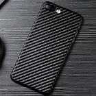 Shockproof Carbon Fiber Ultra Thin Slim Back Case Cover for iPhone XS 8 7 Plus 6