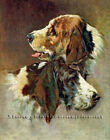 Old Friends 2 ~ Foxhounds, Dogs ~ Counted Cross Stitch Pattern