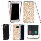 Shockproof 360° Silicone Clear case cover for many mobiles - design ref zx0829