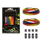 Xpand No Tie Shoelaces System with Elastic Laces - Rainbow - One Size Fits