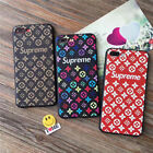 Hot Retro Pattern Supreme Soft Silicone Phone Case Back Cover Bumper For iPhone