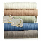 Biddeford Consolation Knit Electric Heated Blankets King