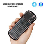 mini bluetooth Backlight keyboard with voice function for iPad/adnroid tablet