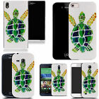 hard durable case cover for samsung & other mobile phones - green turtle