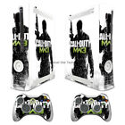 NEW COD MW3 vinyl decal Sticker Skin cover case for xbox360 Console wy98