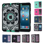 NEW HYBRID SHOCKPROOF MILITARY HEAVY DUTY CASE COVER FOR APPLE IPAD MINI/234/AIR