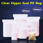 SEAL ZIP TOP CLEAR 1 MIL POLY ZIPLOCK RECLOSABLE JEWERLY ZIPPER BAGS Best Price!