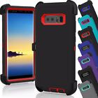 Samsung Galaxy Note 8 Case Cover Belt Clip Heavy Duty TPU Protective Shockproof