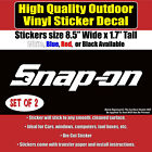 Snap-on - Multiple Colors- Vinyl Sticker Decal, SNAP ON TOOLS, SNAP-ON TOOL