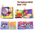 Book Cloth Baby Intelligence Development Cognize Educational Kid Bed New Soft