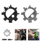 12 Function Durable Stainless Keyring Bottle Opener Bicycle Adjust Multi Tool
