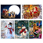 DIY 5D Xmas Diamond Painting Embroidery Cross Crafts Stitch Kit Home Wall Decor