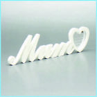 MUM Plaque Sign Letter Engraved Free Standing Home Decor Birthday Gift Memorial