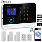Digoo Wireless GSM+SMS+WiFi Burglar Alarm Systems Kit Home House Office Security