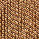 Pixel Orange Modern Fabric Braided Cable For Lamp- Light Flex Cable 2 Or 3 Core
