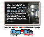 Buddha Quote Fridge Magnet - Dream / Sun & Moon / Buddhism / India / Religion