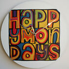"Happy Mondays Logo - 12"" Vinyl Record Clock"