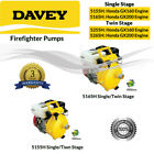 DAVEY 5155H 5255H 5165H 5265H FIREFIGHTER WITH HONDA GX160 GX200 ENGINE