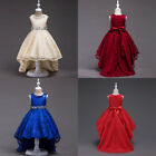 Flower Kid Formal Princess Dress For Girl Wedding Bridesmaid Pageant Party Gown