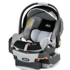 Chicco Infant Baby Keyfit Safety 5 Point Harness Car Seat & Base Midori Graphica