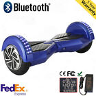 UL2272 8 inch Hoverboard LED E-self balancing scooter 3 CLOLOR