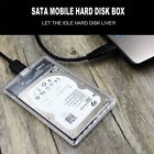 Transparent SSD High-Speed Mobile Hard Disk Box USB To SATA Serial Port KK