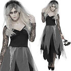 Adult Graveyard Bride zombie dressing up halloween costume outfit undead horror