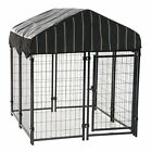 Outdoor Dog Kennel House Playpen Cover Cage Crate Cave Bed Cushion Warm Winter