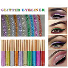 Makeup  Shiny Smoky Eyes Eyeshadow Waterproof Glitter Liquid Eyeliner WO