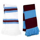 Aston Villa Supporters Striped Bar Scarf - Made in the UK | Home & Away Colours