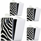 faux leather case cover for majority Mobile phones - animal print flip