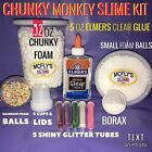 Elmers Glue SLIME KIT Do It Yourself with instructions
