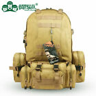 TONPAR Pro 60L 4 in 1 Removable MOLLE Tactical Backpack Climbing Camping Hiking