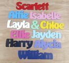 Personalised Names / Wooden Name Plaques / Bedroom Door Sign Letters #009 Hobo