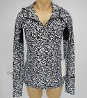 NEW LULULEMON Water Bound Hoodie Top 4 Paddle Brushed Animal White Black NWT